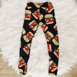 LuLaRoe || Burger Leggings 🍔